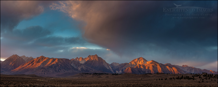 Image: Morning Light on the Eastern Sierra, California