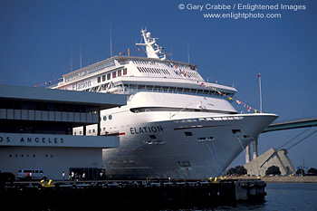 Stock Photo Picture Image Luxury Cruise Ship Ocean Liner Docked - Los angeles cruise ship terminal