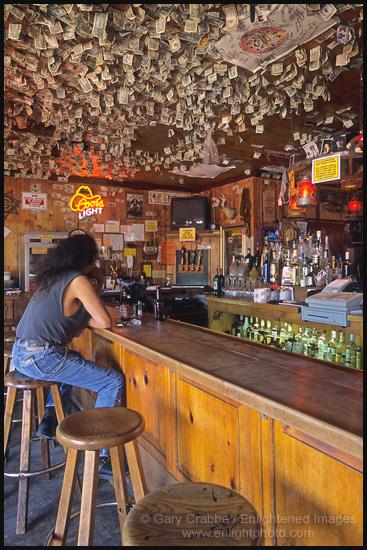 Picture Maverick Saloon Santa Ynez California Stock