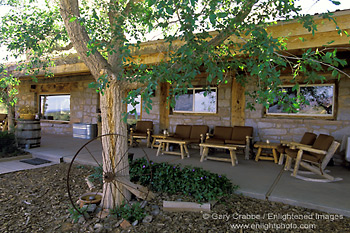 Picture: Rustic Front Porch Patio Area, Valley Of The Gods Bed U0026 Breakfast  Inn