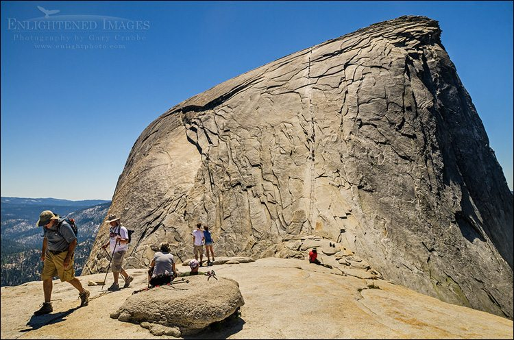 Two of the best hikes in Yosemite; Part Two: The Summit of Half Dome via the Cables Route