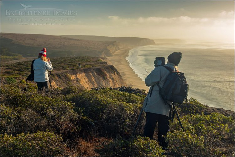 Class photos from my Beaches of Point Reyes Workshop