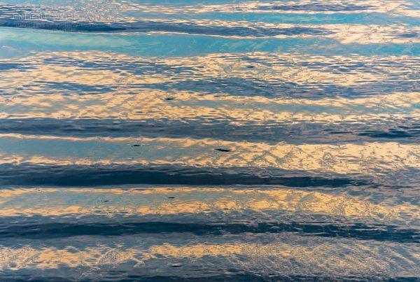 Photo: Detail of wet sand on Drakes Beach, Point Reyes National Seashore, Marin County, California