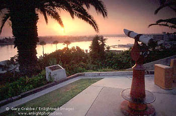 Sunset Form Lookout Point Coronado Newport Beach California