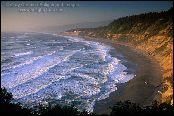 Photo Waves At Sunset Along Agate Beach Patricks Point State Park Trinidad